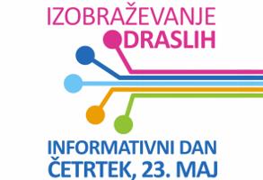Informativni dan - četrtek, 23. maj 2019